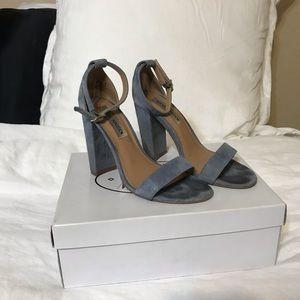 Steve Madden Blue Heels 💙